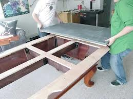 Pool table moves in Columbia South Carolina