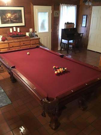 Solo 174 Columbia American Heritage Pool Table 22