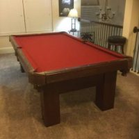 8ft Pool Table For Sale