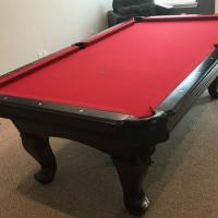 8' C.L. Bailey Pool Table For Sale