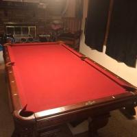 American Heritage Billiard Table Room Set