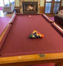 8' Legacy Pool Table